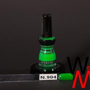 Extreme nagellak N. 904 fluor groen