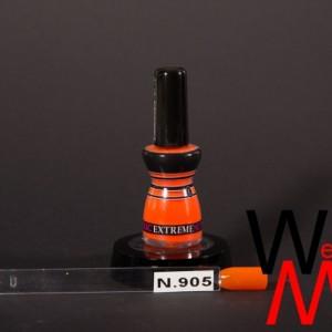 Extreme nagellak N. 905 fluor oranje