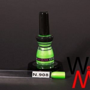 Extreme nagellak N.908 fluor groen