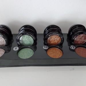 tray mono oogschaduw kleurnummers 7, 8, 10 en 12