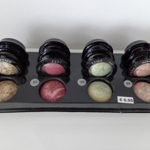 tray terracotta mono oogschaduw kleurnummer 81, 82, 83 en 84
