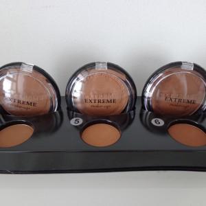 tray bronzing poeder nummer 4, 5 en 6